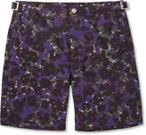 Paul Smith Mid-Length Flower-Print Swim Shorts