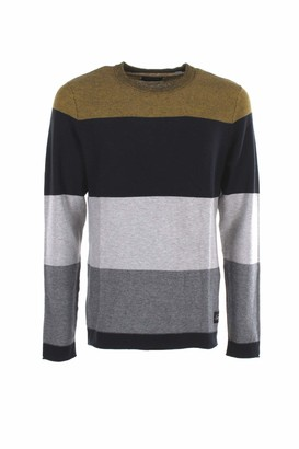 Jack and Jones Men's JORFLAME Knit Crew Neck STS Sweater