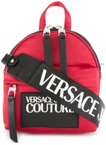 Versace Contrast Logo Small Backpack