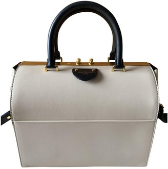 Louis Vuitton Speedy Doctor 25 Beige Leather Handbags