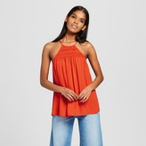 Mossimo Women's Woven Strappy Tank Top