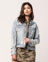Vanilla Star Premium Destructed Womens Denim Jacket