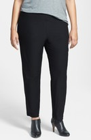 Eileen Fisher Plus Size Women's Crepe Ankle Pants