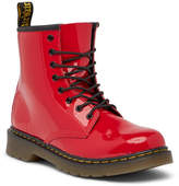 Dr. Martens Delaney Patent Lace-Up Boot (Toddler & Little Kid)