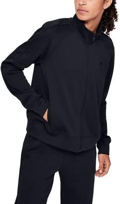 Under Armour Women's UA Double Knit Track Jacket