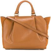 DKNY soft pleated crossbody bag