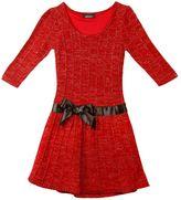 Amy Byer Iz ribbed dress - girls 7-16