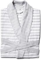 Turkish T Sorbet Short Bathrobe, Gray
