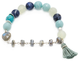 Chan Luu Mix Stone Corded Friendship Bracelet