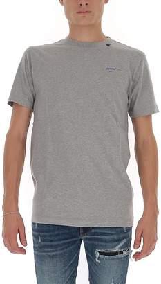 Off-White Off White Acrylic Arrow Logo Print T-Shirt