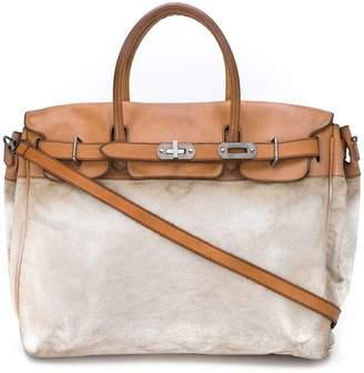Numero 10 Contrasting Tote Bag