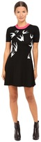 McQ by Alexander McQueen Swallow Jacquard Skater Women's Dress