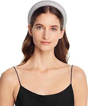 Aqua Embellished Padded Headband - 100% Exclusive