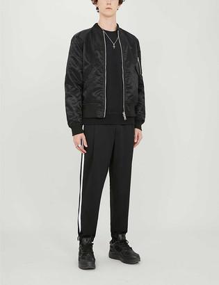 Boy London Reversible logo-print bomber jacket