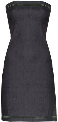 Miaou Lotte denim mini dress