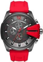 Diesel Men's DZ4427 Mega Chief Gunmetal IP Silicone Watch