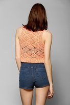 Urban Outfitters Staring At Stars Neon-Stitch Sweater Tank Top