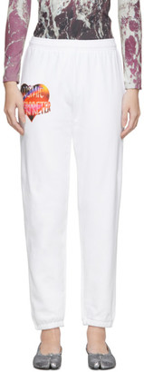 Ashley Williams SSENSE Exclusive White Cosmic Wonder Lounge Pants