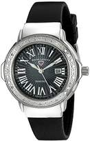 Swiss Legend Women's 20032DSM-01 South Beach Analog Display Swiss Quartz Black Watch