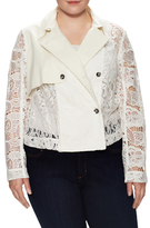 Rachel Roy Cropped Trench Jacket