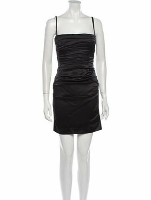 Dolce & Gabbana Vintage Mini Dress Black