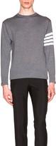Thom Browne Classic Merino Crewneck Sweater