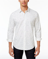 American Rag Men's Tossed Tile-Print Cotton Shirt, Only at Macy's