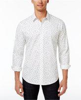 American Rag Men's Tossed Tile Print Shirt, Created for Macy's