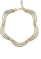 Pearl Section Collar Necklace
