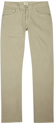 Citizens of Humanity Bowery Stone Cotton-twill Chinos