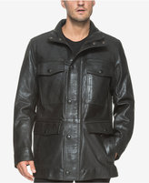 Andrew Marc Men's Lined Leather Jacket
