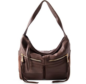Aimee Kestenberg Road Trip Leather Hobo Bag
