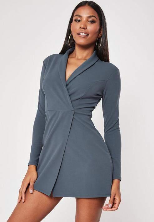 ac68092b5a7 Blazer Mini Dress - ShopStyle