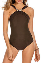 Miraclesuit Be Jeweled High Neck One-Piece