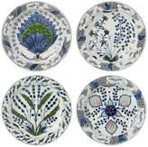 OKA Isphahan Porcelain Starter Plates, Set of 4