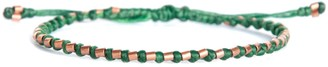 Harbour Uk Bracelets The Healer Solid Copper Green Rope Bracelet