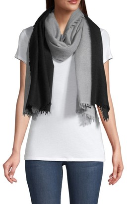 Bindya Dip-Dye Colorblocked Scarf