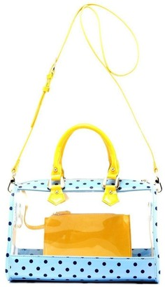 clear Score! Designs Satchel Bag with Privacy Pouch - Moniqua