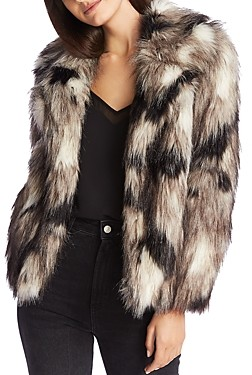 1 STATE Faux-Fur Jacket