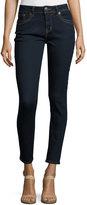 Grace in LA Easy Skinny Denim Jeans, Dark Blue