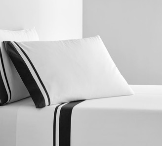 Pottery Barn Parker Organic Percale Sheet Set