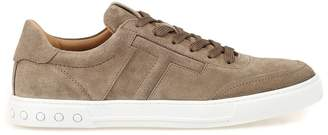 Tod's Suede Lace Up Sneakers
