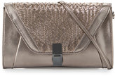 Elliott Lucca Bali 89 Convertible Leather Clutch Bag, Pyrite Devi