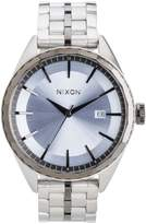 Nixon A9342363 Men's Minx Blue Dial Two Tone Gunmetal IP Steel Bracelet Watch