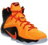Nike Lebron Xii Gs 'witness' Basketball Shoes Laser Orange Crimson 685181 830