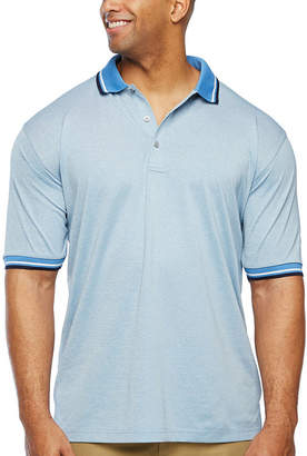 PGA Tour TOUR Big and Tall Mens Short Sleeve Polo Shirt