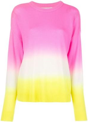 Alice + Olivia Alice+Olivia Gleeson dip-dye pullover