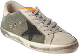 Golden Goose Superstar Canvas & Suede Sneaker