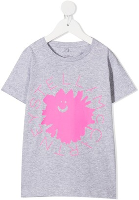 Stella McCartney Kids logo print T-shirt