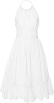 Zac Posen Cotton Poplin Halter Dress